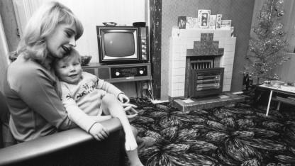 Waren noch nicht vernetzt: eine Familie in den fünfziger Jahren