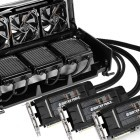 Gigabyte Waterforce: Wasserkühlungsbox mit drei Geforce GTX 980