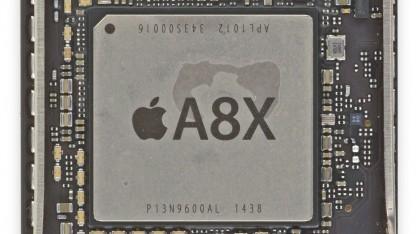 Der A8X mit Heatspreader