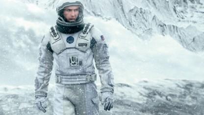Christopher Nolans Interstellar wird auch im analogen Format gezeigt.