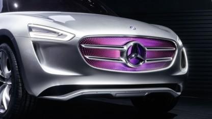Konzeptfahrzeug Mercedes-Benz G-Code
