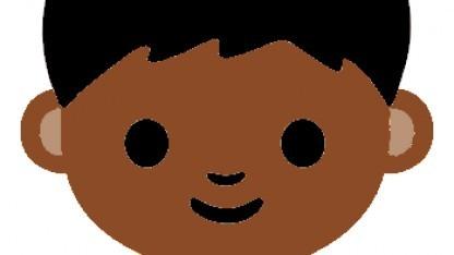Emoji mit Hauttyp 5