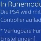 Playstation 4: Sony hat Firmware 2.01 veröffentlicht