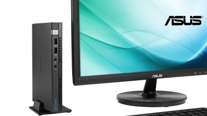 Der E810 neben einem Monitor