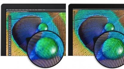 Vergrößerungen von Full-HD und 5K im Vergleich