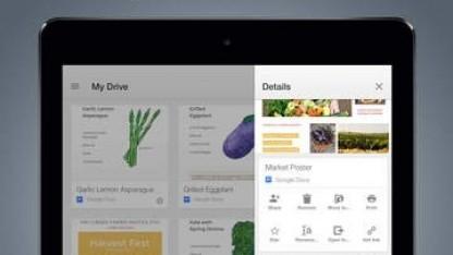 Google Drive 3.3 schützt den Datenzugriff mit Fingerabdrücken