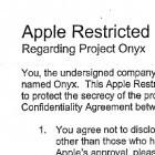 Geheimhaltungsverträge: Was es heißt, Zulieferer für Apple zu sein