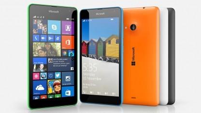 Auch das neue günstige Lumia 535 soll nach Angaben von Microsoft ein Update auf Windows 10 erhalten.