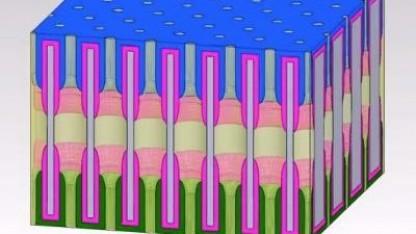 Akkuzelle aus Nanoporen