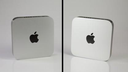Der neue Mac Mini wurde nur intern aktualisiert.