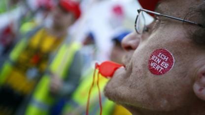 Proteste für mehr Lohn oder bessere Arbeitsbedingungen wie in anderen Branchen sind in der IT noch selten.