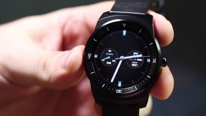 LG neue runde Smartwatch G Watch R