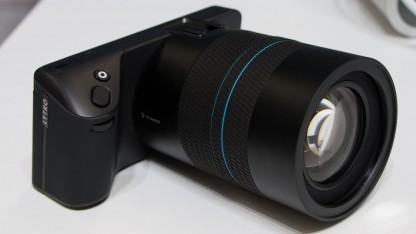 Lichtfeldkamera Lytro Illum: Der Betrachter kann ein Bild manipulieren.