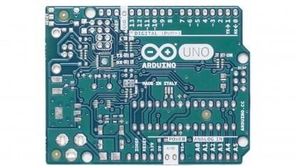 Arduino Uno R3-Platine in neuer Farbe