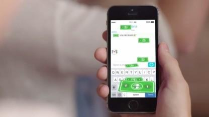 Snapcash soll Bezahlen in der Snapchat-App ermöglichen.