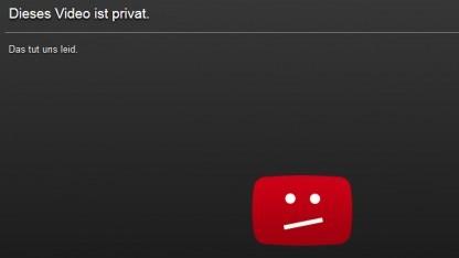 Das Video zu DX12  ist auf privat gestellt.