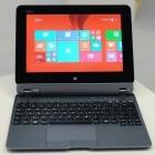 Fujitsu Stylistic Q555 angeschaut: Mattes Business-Tablet mit 64-Bit-Atom und großen USB-Ports