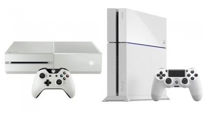 Xbox One und Playstation 4 sind inzwischen jeweils auch in Weiß erhältlich.