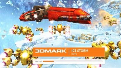 Mit D3D9 im 3DMark ist der Core M schnell.