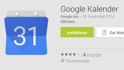 Die Google-Kalender-App für Android verärgert Nutzer.