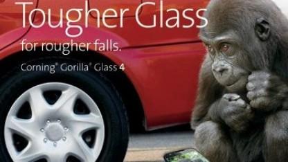 Gorilla Glass 4 soll soll widerstandsfähiger sein.