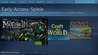 Early Access auf Steam