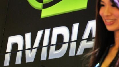Nvidia auf einer Messe