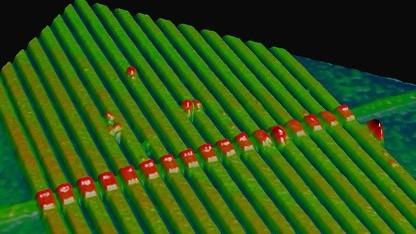 Memristor aus Titandrähten