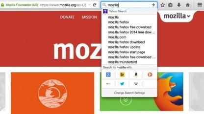 Das Suchfeld im Firefox bekommt ein neues Aussehen.