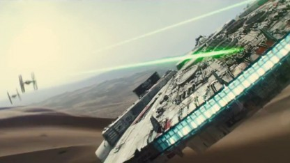 Der Millennium Falcon in Star Wars Episode VII