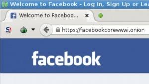 Facebook im Tor-Netzwerk - das Zertifikat bietet keine hohe Sicherheit.