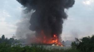 Eine Bitcoin-Mining-Installation in Thailand ging kürzlich in Flammen auf.