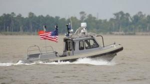 Roboterboot der US-Marine (Symbolbild): Roboterboot gaukelt Minen ein Schiff vor.