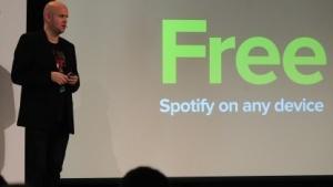 Spotify-Chef Daniel Ek im Juli 2014