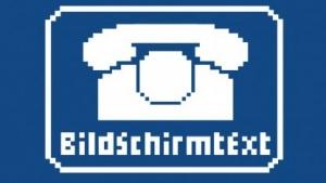 Der Bildschirmtext der deutschen Post sah noch eine Trennung von Anbietern und Nutzern vor.
