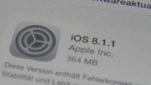 iOS 8.1.1 als OTA-Update