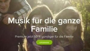 Das Angebot bei Spotify