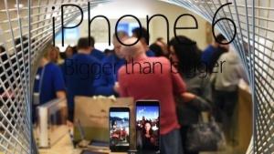 Auch Apples neue iPhone-Modelle haben WLAN-Probleme.