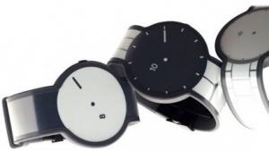 Die FES-Watch besitzt ebenfalls ein E-Ink-Display auf dem Armband.