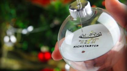 aura schnurlos leuchtende weihnachtskugeln mit wlan. Black Bedroom Furniture Sets. Home Design Ideas