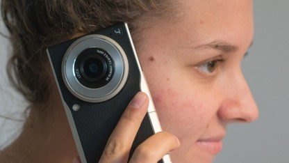 Panasonic DMC-CM1: eine Kamera zum Telefonieren