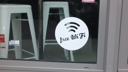 Wifi-Hotspot in Berlin-Kreuzberg