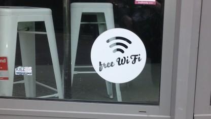 Wifi-Hotspot in Berlin-Kreuzberg