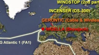 Unter dem Namen Incenser zapft der britische Geheimdienst Kabel zwischen den USA und Asien an.