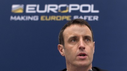 Europol-Chef Rob Wainwright