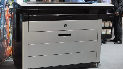 HPs Großformatdrucker arbeitet mit 200.000 Düsen.