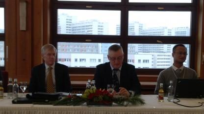 John Suffolk (Bildmitte), Global Cyber Security Officer bei Huawei in Berlin
