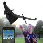 Widerstandsfähig: Drohne als Papierflieger aus Carbon