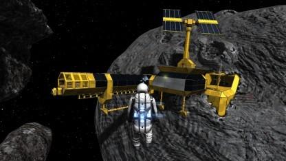 Space Engineers: Klötzchenbau im Weltraum