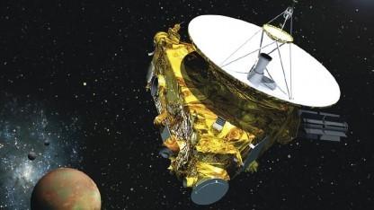 Sonde New Horizons: Funksignal braucht 4,5 Stunden bis zur Erde.